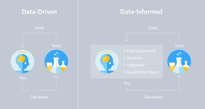 Data-Driven vs Data-Informed