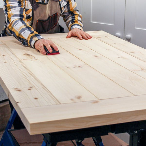 diy farmhouse table top plan