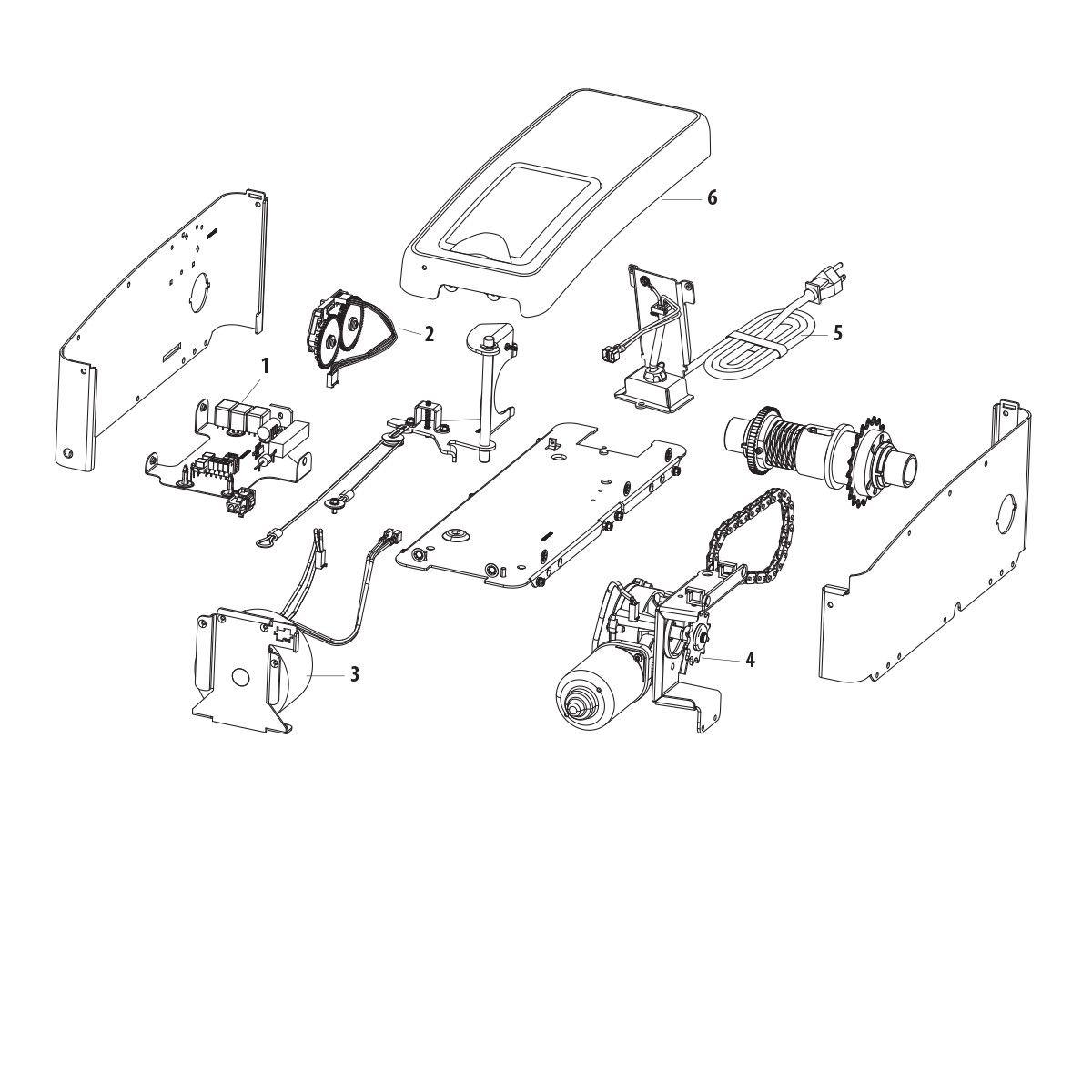 8500c WallMount Garage Door Opener | LiftMaster Canada