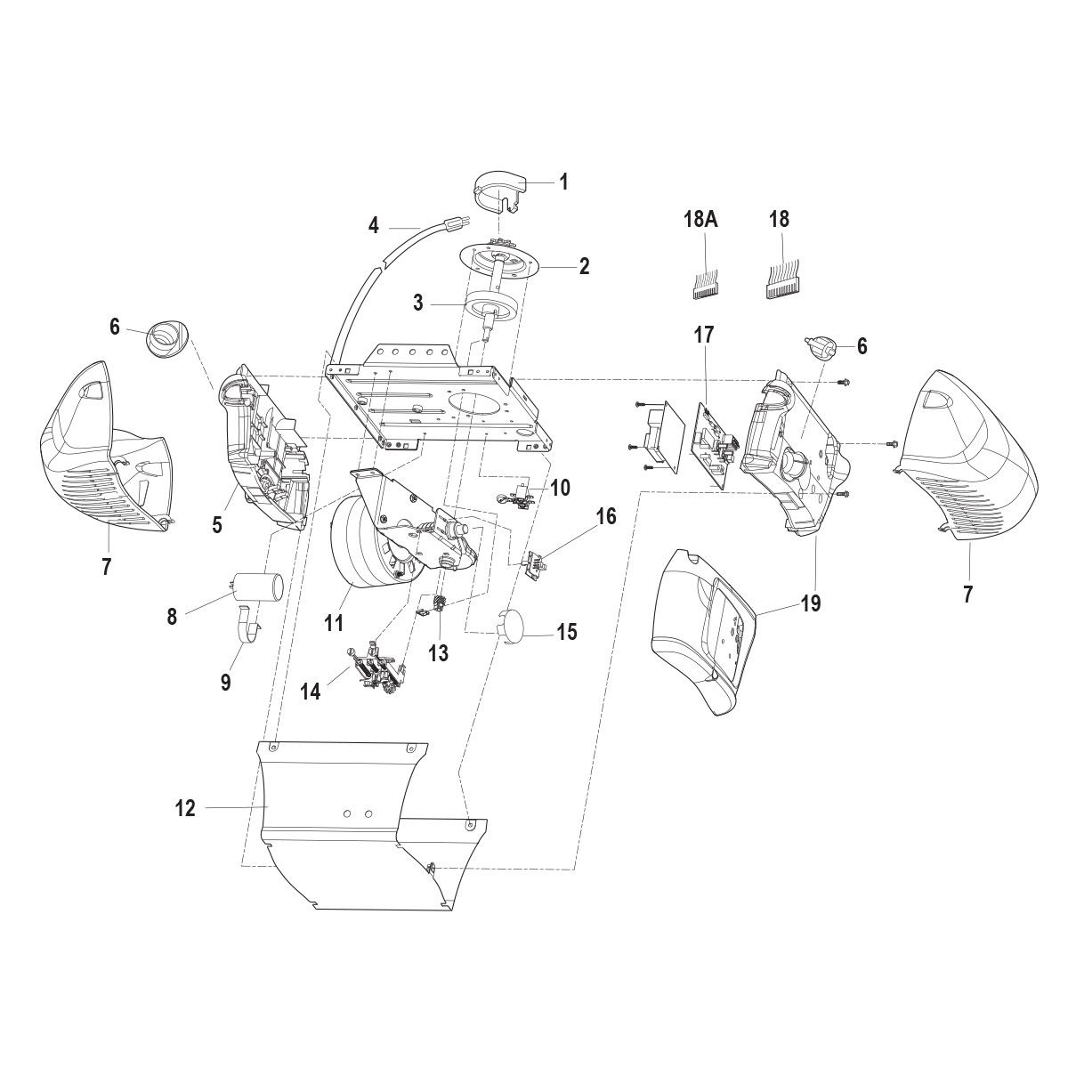 Chamberlain Pd210d Replacement Parts