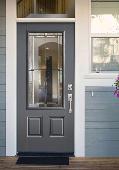 best front doors Masonite Belleville Marco & Best Front Doors for Every Home Style (Masonite) - A Pop of Pretty ...