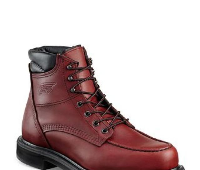 Mens  Inch Boot Brown Red Wing