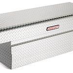 Model 123-0-01 Saddle Box, Aluminum, Full Extra Deep, 15.1 cu ft