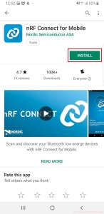 nRF Connect Tutorial