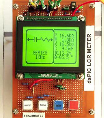 portable lcr meter on pic microcontroller embeddspic_rcl_meter jpg pic_rcl_meter jpg this lcr meter