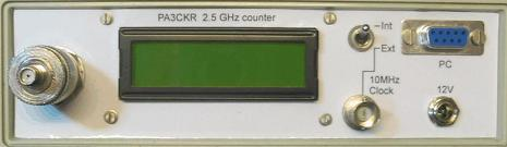 25ghz-counter
