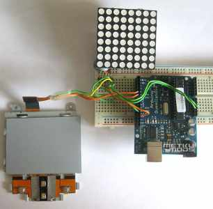 Arduino and Laptop Touchpad