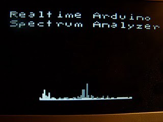 Arduino audio spectrum analyzer - Embedds