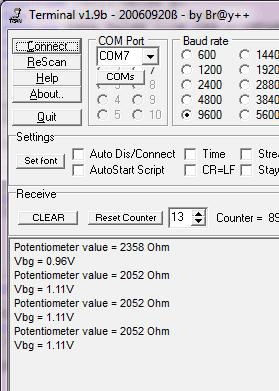Interfacing Potentiometer With Msp430