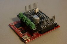 Motor driver shield for MSP430 Launchpad