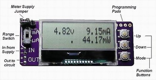 Power supply meter based on MSP430