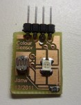 avr based rgb color sensor