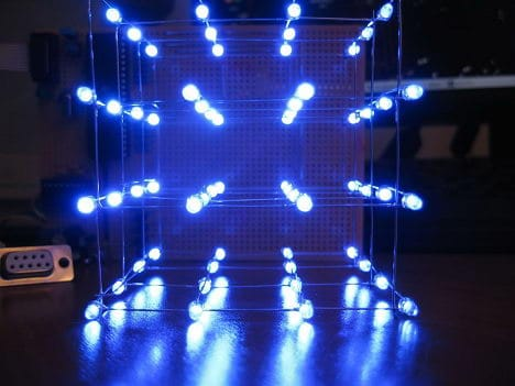 Building a BASIC Stamp LED Cube (Before Programming)