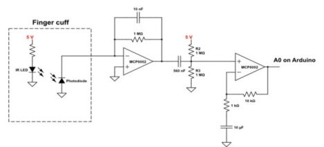 arduino_photoplethysmography_input