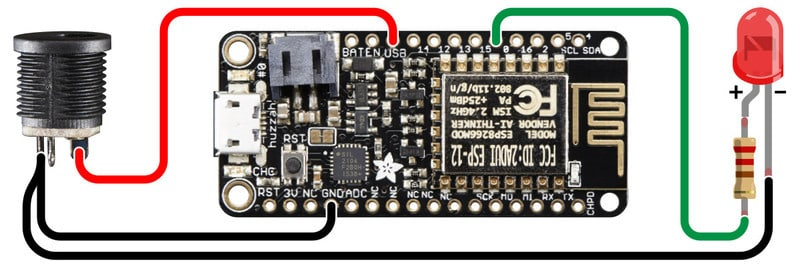 Scraping website for health related information with ESP8266