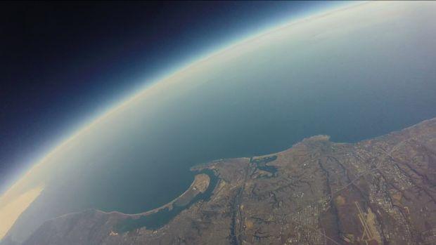 Arduino based high altitude balloon data logger