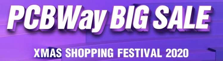 PCBWay shopping festival 2020