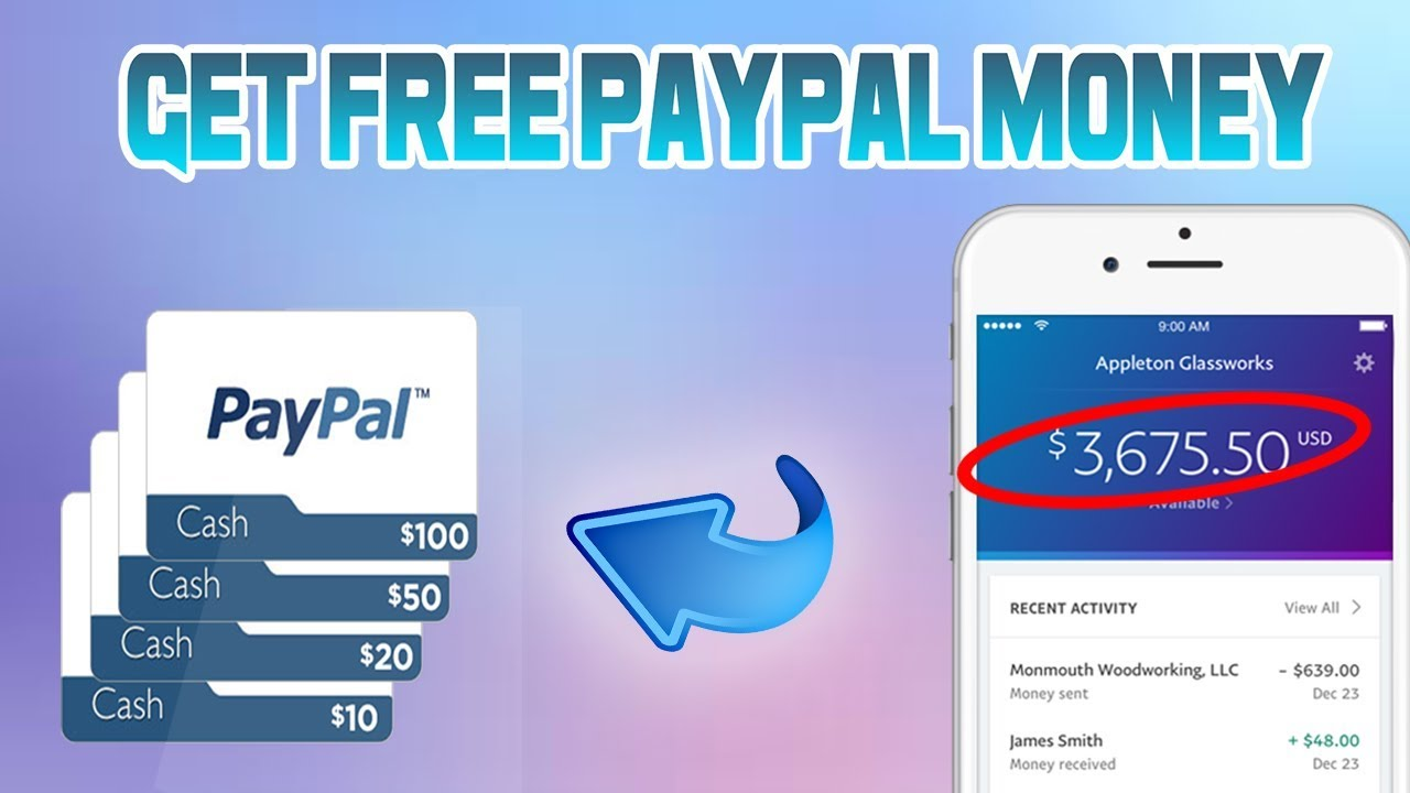 How To Get Free Paypal Money 2017!!!! New On Your iPhone