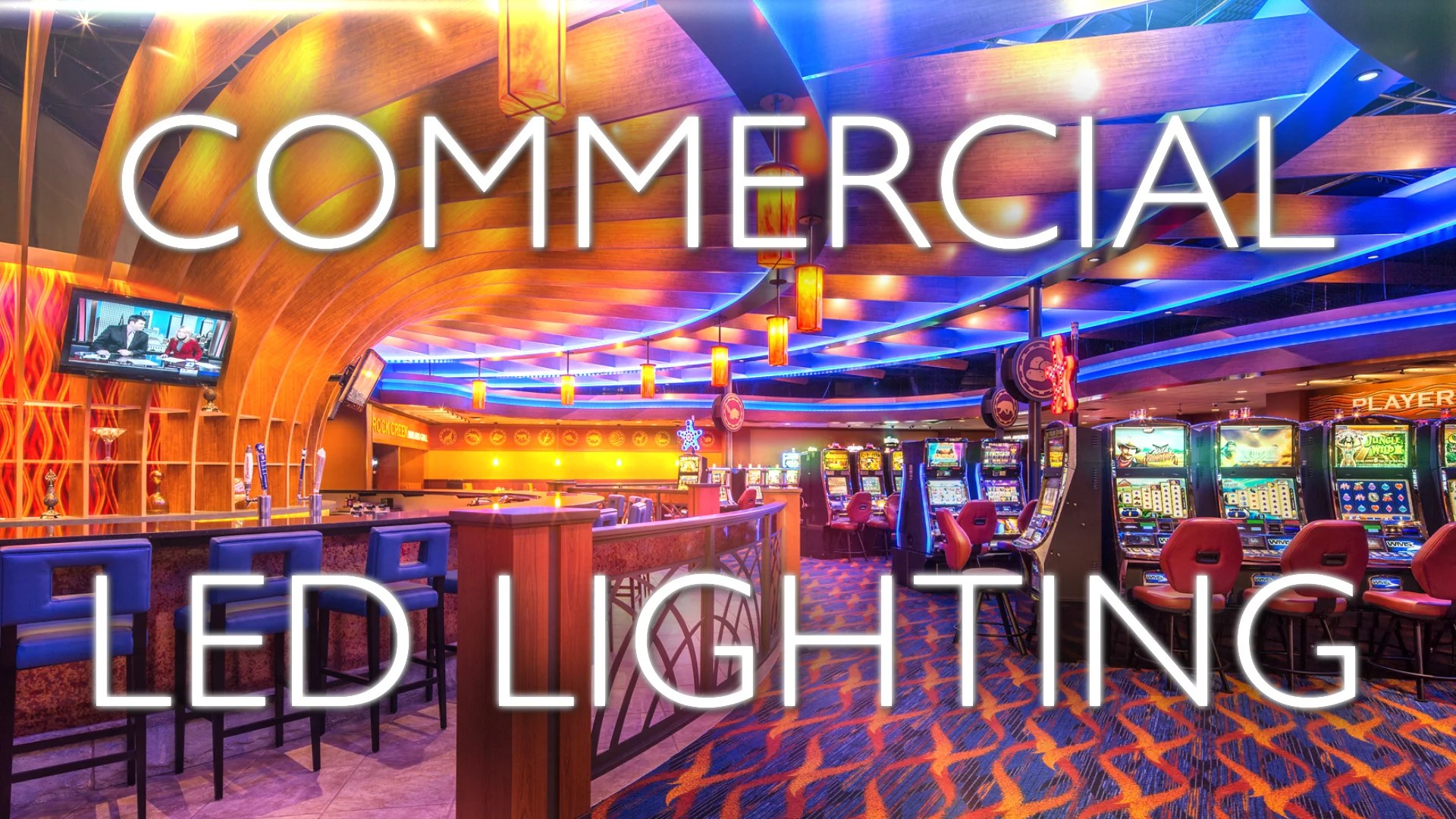 commercial and architectural led lighting
