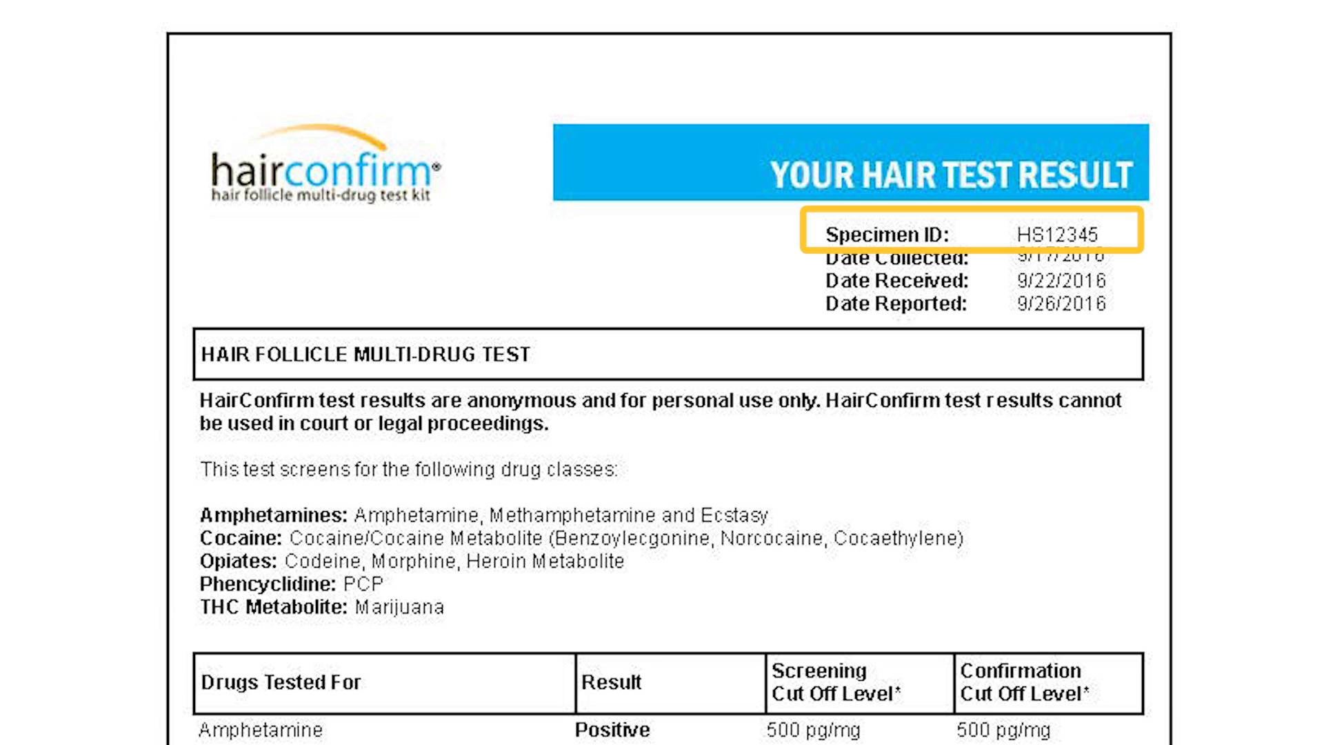 Hair Follicle Drug Test Timeline