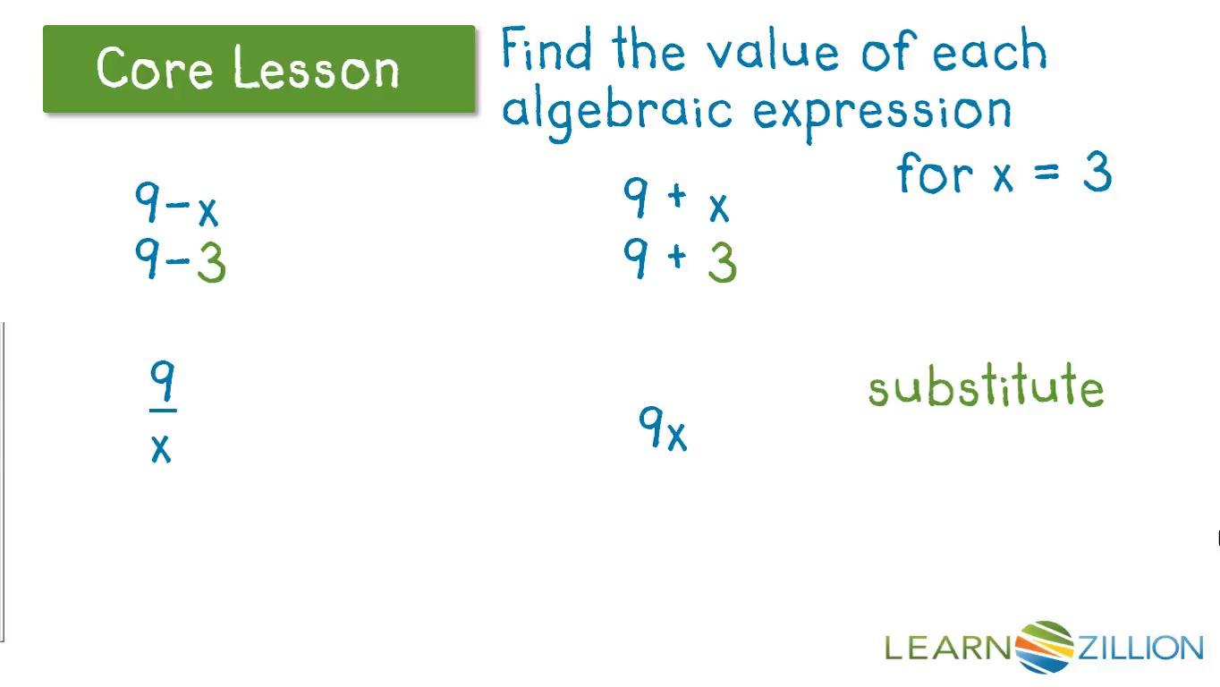 Translate Each Situation Into An Algebraic Equation