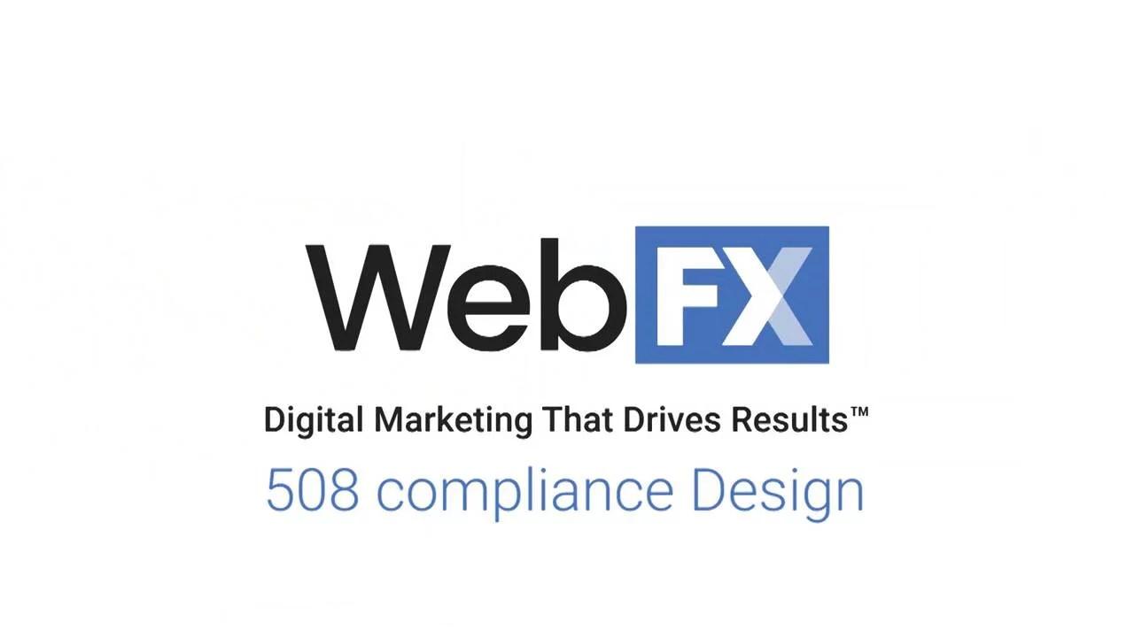 508 Compliance Design
