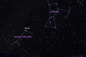 Sirius Star & Orion