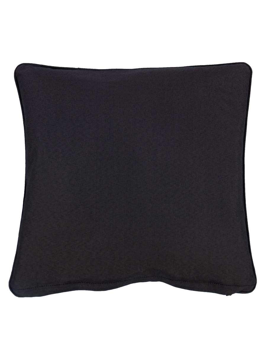 wifera black small outdoor throw pillow embellish imports