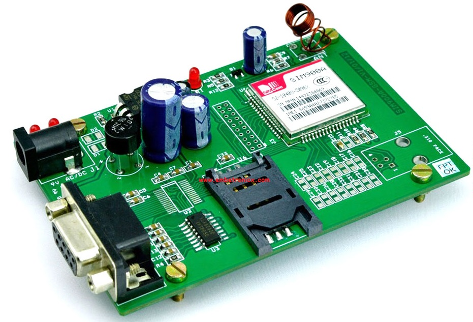 GSM Interfacing with PIC16F877A (SIM900A)   EmbeTronicX