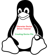 Device File Creation for Character Drivers