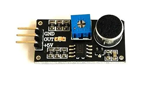 Sound-Sensor Sound Sensor Interfacing with 8051