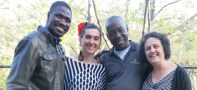 Namory Keita, Marita Kennedy-Castro, Youssouf Koumbassa & Elizabeth Fowler