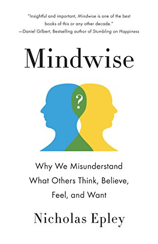 Mindwise Book Cover by Nicholas Epley