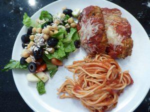Italian Chicken Tenders Parmesan