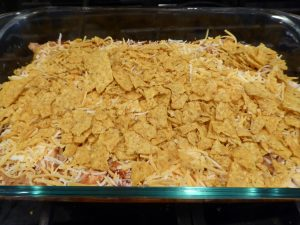 cheesy crunchy mexican casserole layers