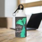 mermaid tail water bottle