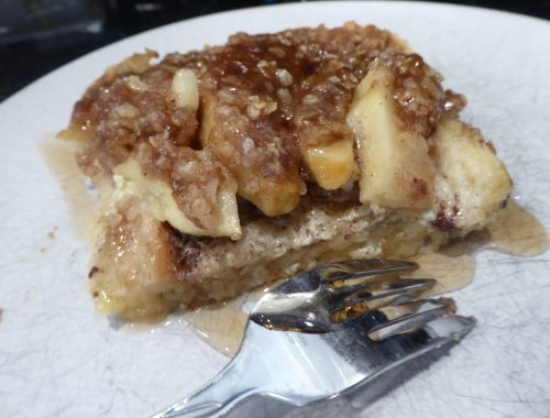 Apple Pie French Toast Bake