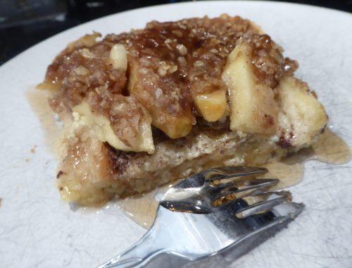 Apple Pie French Toast Bake