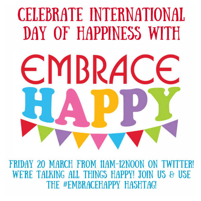 Celebrate InternationalDay of Happiness