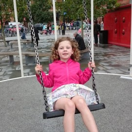 A Swing for a Gorgeous Girlie