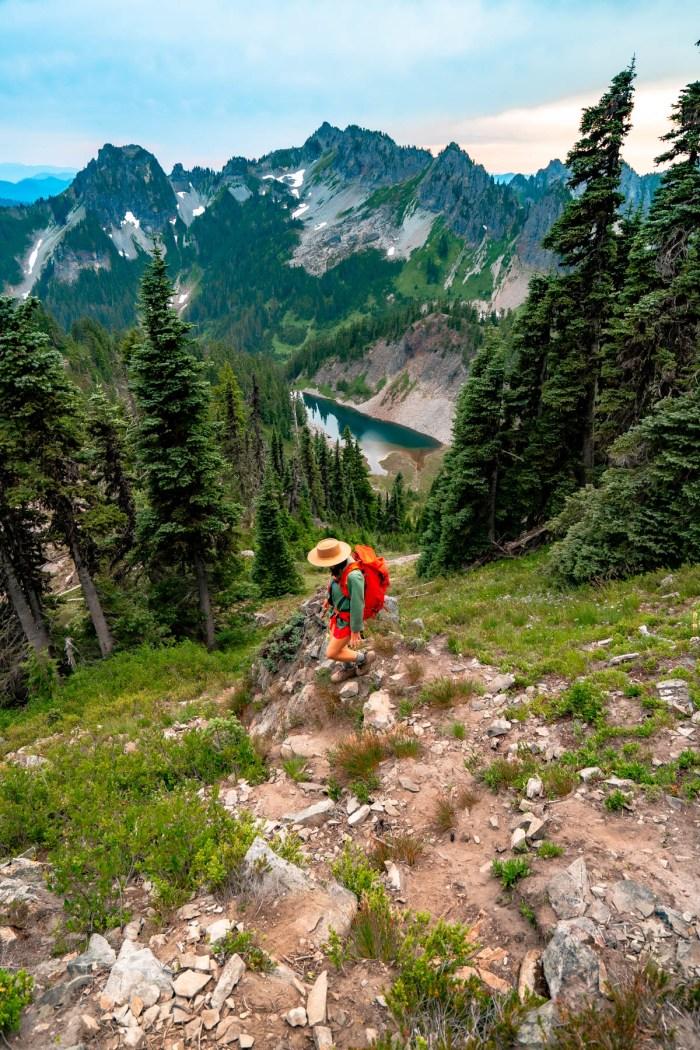 Mt. Rainier National Park   Pinnacle Peak Hike