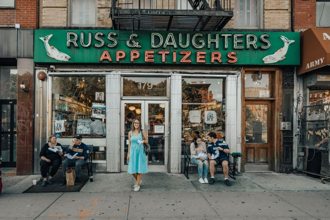 Russ & Daughters New York City