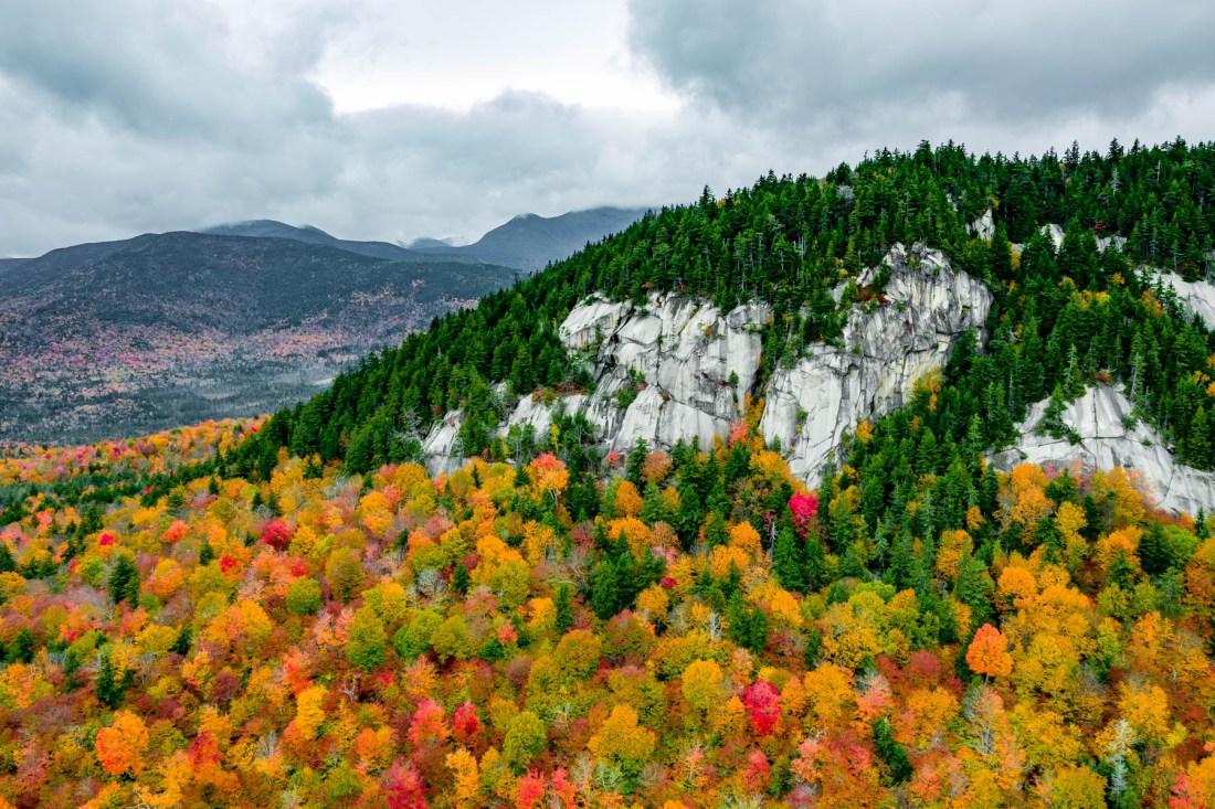 fall foliage White Mountains