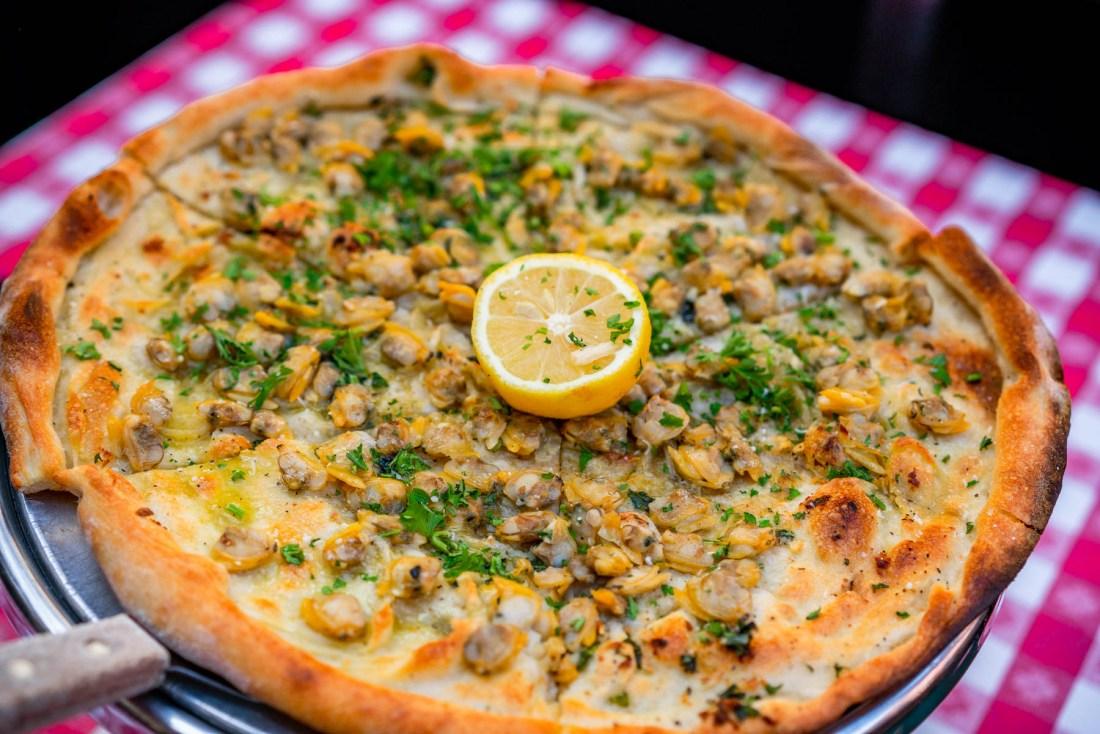 Lombardi's Pizza NYC Clam pizza Lombardi's