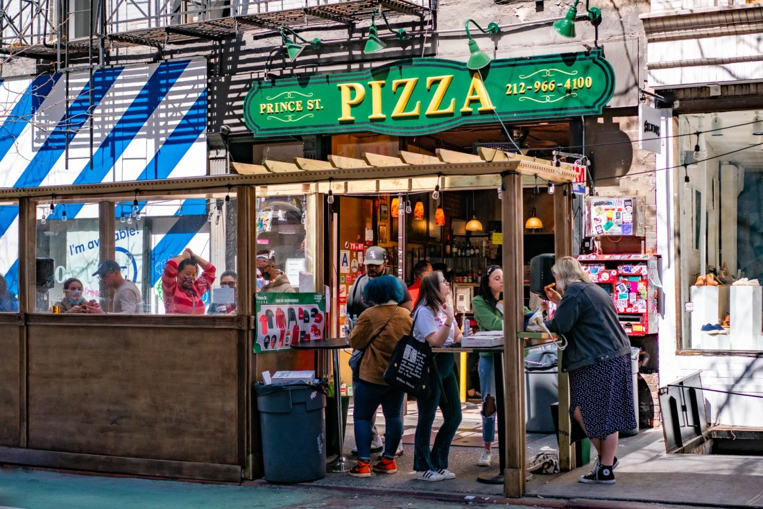 Prince St. Pizza NYC