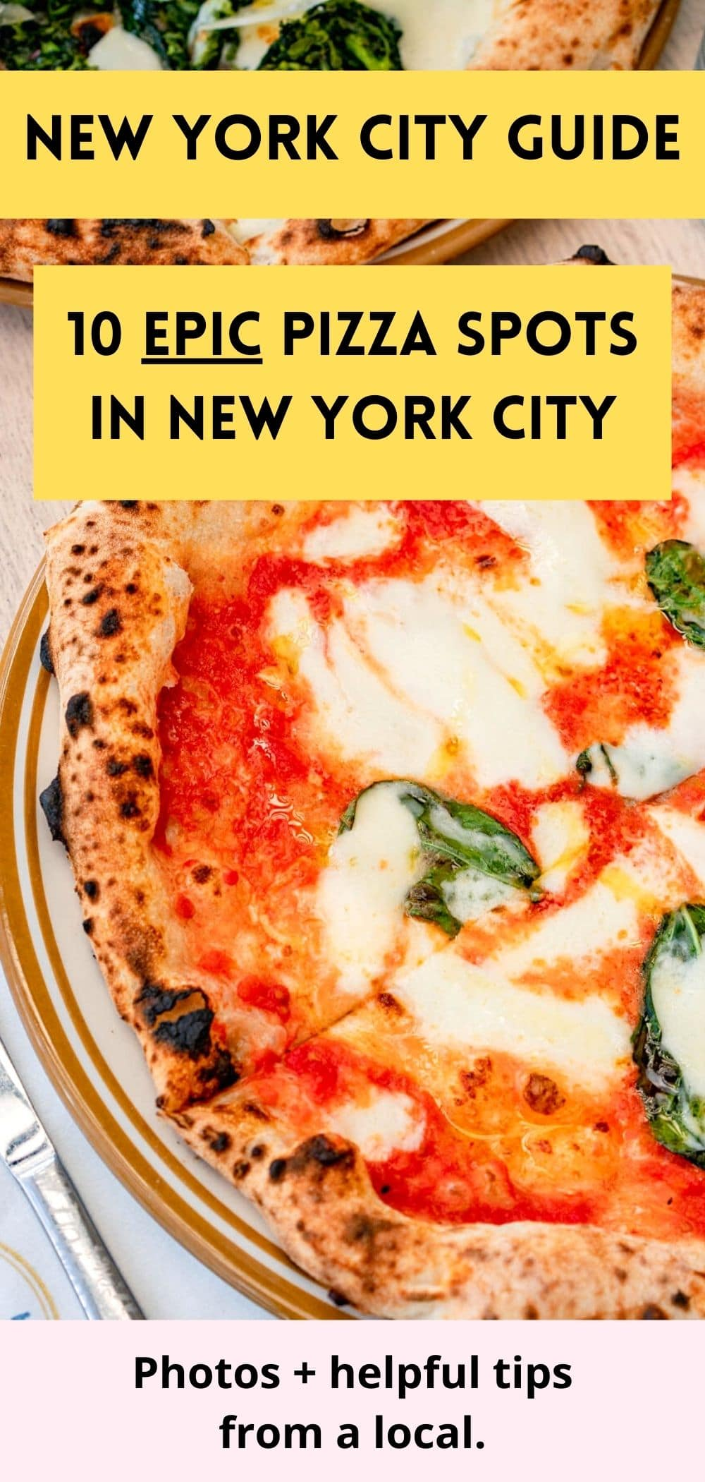 best pizza in New York City