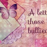 A letter to those being bullied.