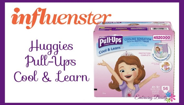 Influenster Cool & Learn Pull-ups by Huggies