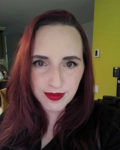 Red Lipstick The Look of Love February Kudos Splash Liquid Lipstick Embracing Beauty with Kim Willis Younique Makeup