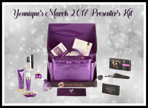 Younique's March 2017 Presenter's Kit Embracing Beauty with Kim Willis